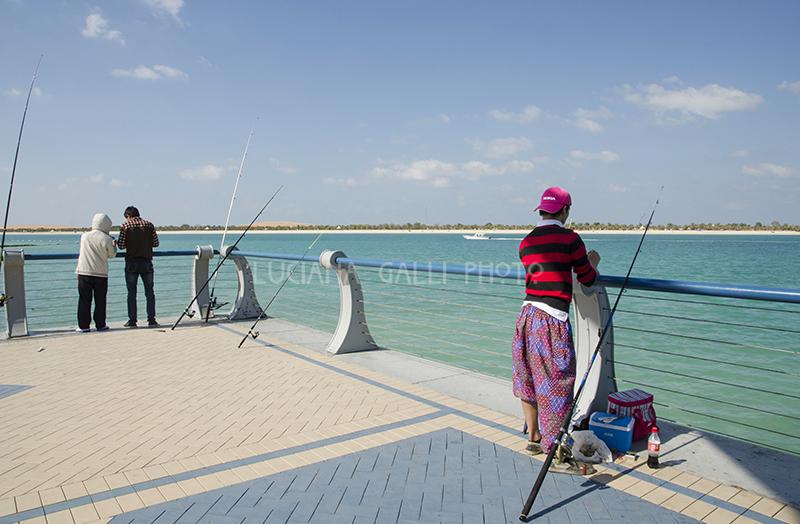 Abu Dhabi, la Corniche
