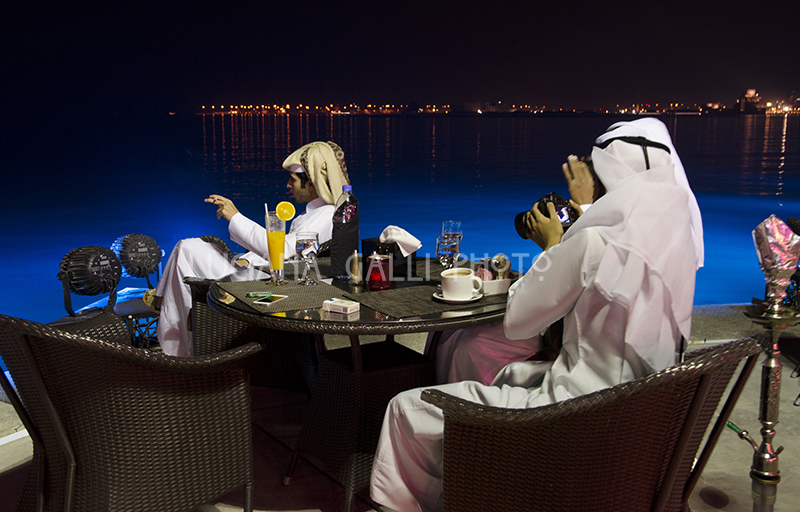 Doha, ristorante sulla Corniche