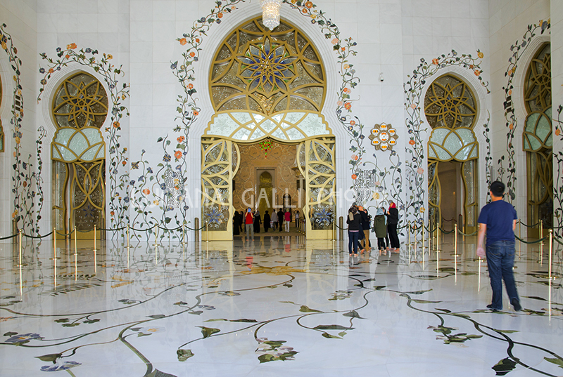 Abu Dhabi, Grande Moschea Sheikh Zayed