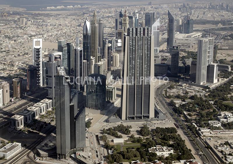 Vista dal Burj Khalifa
