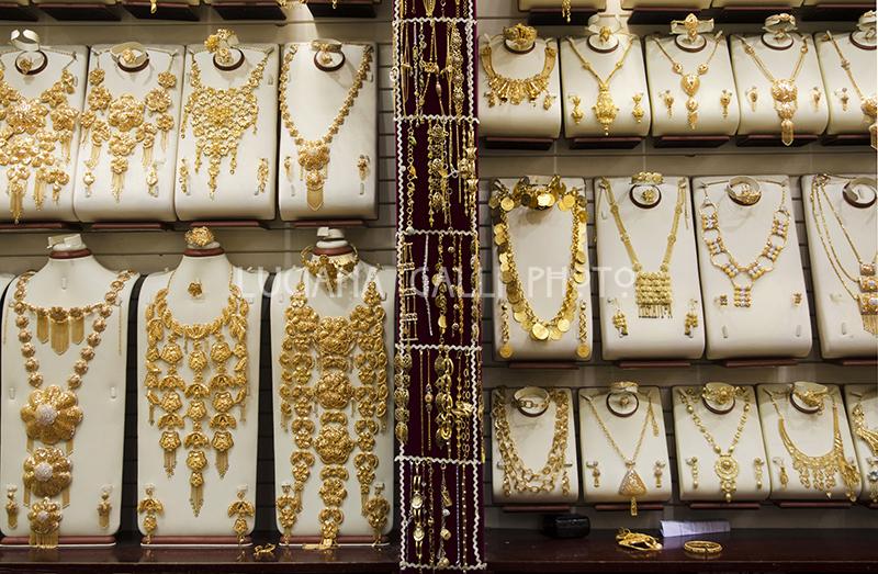 Dubai vecchia, suq dell'oro