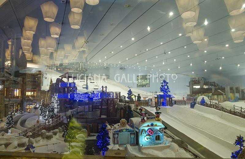 Emirates Mall, pista da sci